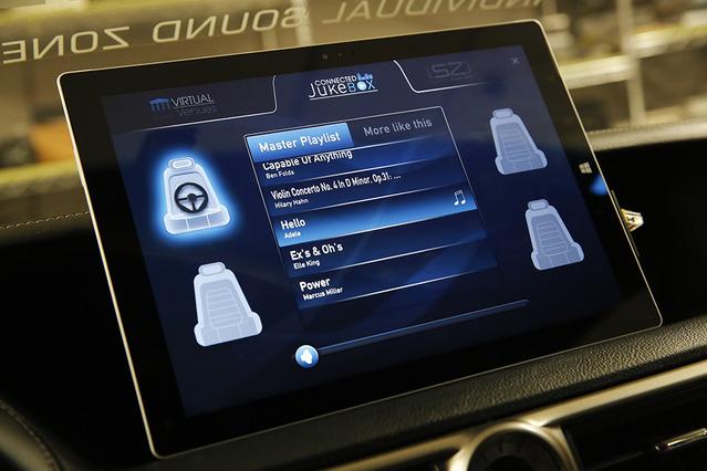 【ハーマン オートモーティブ】ソースは同じ、音色や聞こえ方は4席別モノ…開発中の車内音響を体感 画像