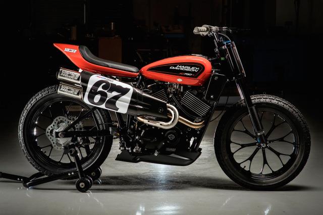 ハーレーの次世代ダートトラックレーサー XG750R がレースデビュー 画像