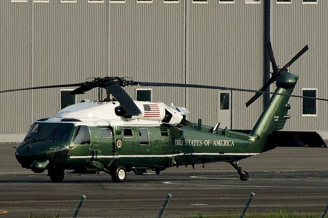 アメリカ海兵隊、オバマ大統領の来日にあわせて「マリーンワン」を運用 画像