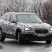 BMW グランドX1スクープ写真