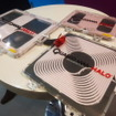 非接触給電システムを展示したクアルコム(オートモーティブワールド2016/東京ビッグサイト/2016年1月13日)