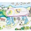「北のみらいのクルマの絵コンテスト」の受賞作品