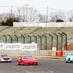 左からアルファロメオ 2000GTV、フェラーリ F40、ポルシェ 356A