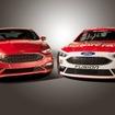 改良新型フォード フュージョン(左)と新NASCAR(右)