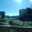 この京葉線高架下付近に船橋サーキット「ソックスカーブ」が存在した