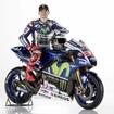 Movistar Yamaha MotoGPのホルヘ・ロレンソ選手。