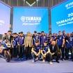 スペイン・バルセロナにて発表されたヤマハの2016チーム体制。