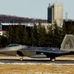 基地の周辺自治体には「最大26機のF-22とF-16が来る」と通告されていた。