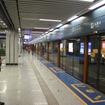 2000年代に開業した新しい地下鉄ではCBTCの導入例が多い。写真はCBTCを導入している中国・西安地下鉄の五路口駅。