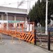 1月31日に廃止された住吉~住吉公園間の200m