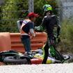 昨年の鈴鹿8耐ウィナーのエスパルガロもこの日は転倒