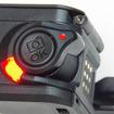 撮影開始時に回すRECボタン(レバー)は大きくて操作しやすい。