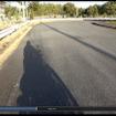 ヘルメットに取り付けて撮影。ハンドルの低い前傾姿勢のバイクだと、ハンドルやメーターが映らない。アメリカンならおすすめの撮影スタイルだ。