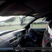 サーキット走行を撮影。OBD2スキャンツールなしでも速度を含めこれだけのデータが表示される。