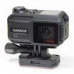 いかにもGARMINらしいデザイン。アクションカメラは白やシルバーなど派手な色が多いが、プロの使う撮影機材はすべて黒いことからも分かるように、アクションカメラも黒くするのが正解だ。