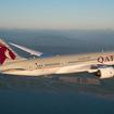 カタール航空のB787