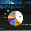 中国のグリーンカーのシェアは民族系ブランドが大半を占めている