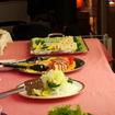 オーベルジュ・ミヨーで供された食事