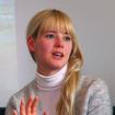 ゲストとして登場したスウェーデン人モデルのヤンニさん。スウェーデン本国でのボルボに対するイメージやエピソードを茶目っ気たっぷりに語ってくれた