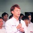 GT500からの引退を発表する脇阪寿一選手