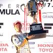 2015年のSFドライバーズチャンピオン、石浦宏明。