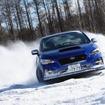 スバルのAWDを北海道の雪上で体験