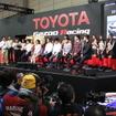 東京オートサロンでのトヨタGAZOOブースステージ