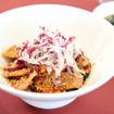 科野豚のグリエと季節の野菜丼