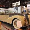 LES AMIS DE DELAGE(クラブドラージュ)のブースにはアガ・カーンが使用したD8 120カブリオレが展示された