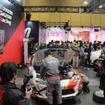 レーシングカー分解ショー