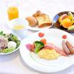 朝食(八ヶ岳わんわんパラダイス)