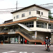 長野原草津口駅旧駅舎、2012年夏ごろ