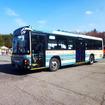 浅間火山博物館に停車中の西武高原バス