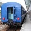 「KEIKYU BLUE SKY TRAIN」に似た塗装の台湾鉄路普快車。
