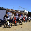 モトスポーツランドしどき(福島県いわき市)にて開催されたCRF1000L Africa Twinメディア向け試乗会。