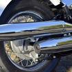 XVS400Cドラッグスタークラシックの新色、ブルーイッシュホワイトパール1