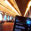 関空と大阪・なんばを結ぶ南海線特急「ラピート」車内は、無料Wi-Fi「Osaka Free Wi-Fi」が使える