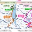 成田空港へのトラック輸送の変化