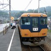 大井川鐵道は3月のダイヤ改正で昼間に普通列車を1往復増やす。写真は普通列車で運用されている旧近鉄車の16000系電車。