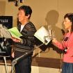 風間杜夫、戸田恵子/「X-ファイル」公開アフレコイベント