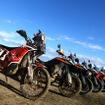 KTM Adventureシリーズの魅力を実感できるアドベンチャー・ミニツーリング。2月21日、千葉・鋸南方面にて開催された。