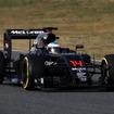 マクラーレン・ホンダのアロンソは早速100周突破