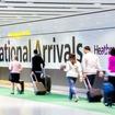 ヒースロー空港ターミナル5到着ロビー
