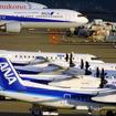 日本の24時間空港のひとつ、関西国際空港(KIX)の朝