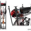 自転車と関連用品を収納する「バイシクルハンガー」…ドッペルギャンガー