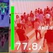 群衆行動解析技術による混雑状況の検知イメージ