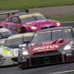 GT500クラス3連覇が日産勢のターゲットだ(#1 NISMOチーム)。