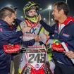 MXGP2016開幕戦カタールで完全優勝したティム・ガイザー(Team Honda Gariboldi Racing)