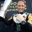 14~15年にWorld RXで連続チャンピオンとなったペター・ソルベルグ。