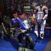 会場には鈴鹿8耐優勝バイクも展示